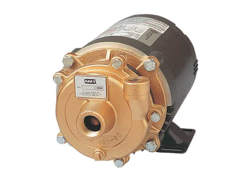 Teel Bronze Straight Centrifugal Pumps