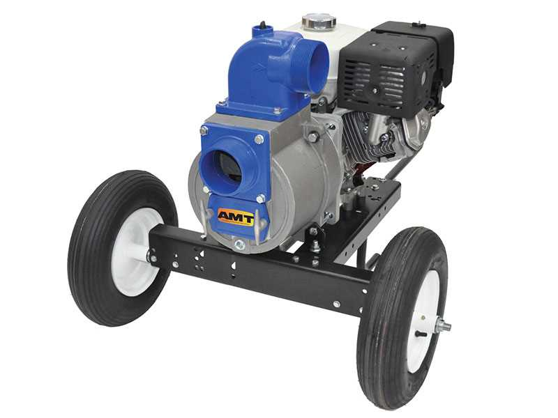 Teel Engine Driven Trash Pumps